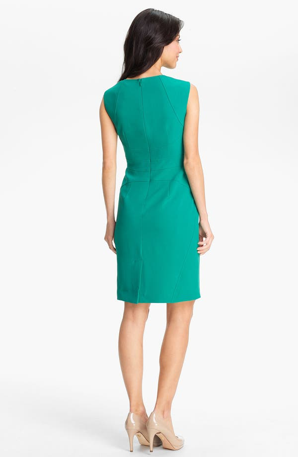 Alternate Image 2  - Adrianna Papell Seamed Sheath Dress