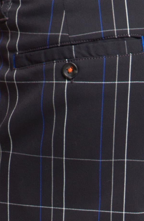 Alternate Image 3  - Tommy Bahama 'Grid Life' Flat Front Shorts (Online Only)