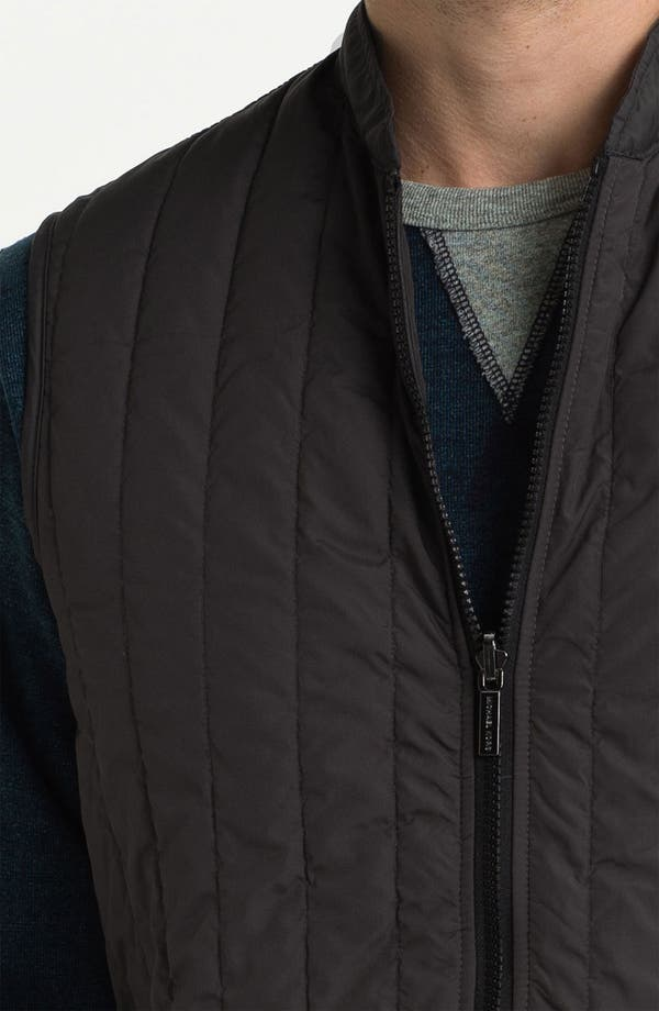 Alternate Image 6  - Michael Kors 3-in-1 Mélange Twill Jacket (Online Exclusive)