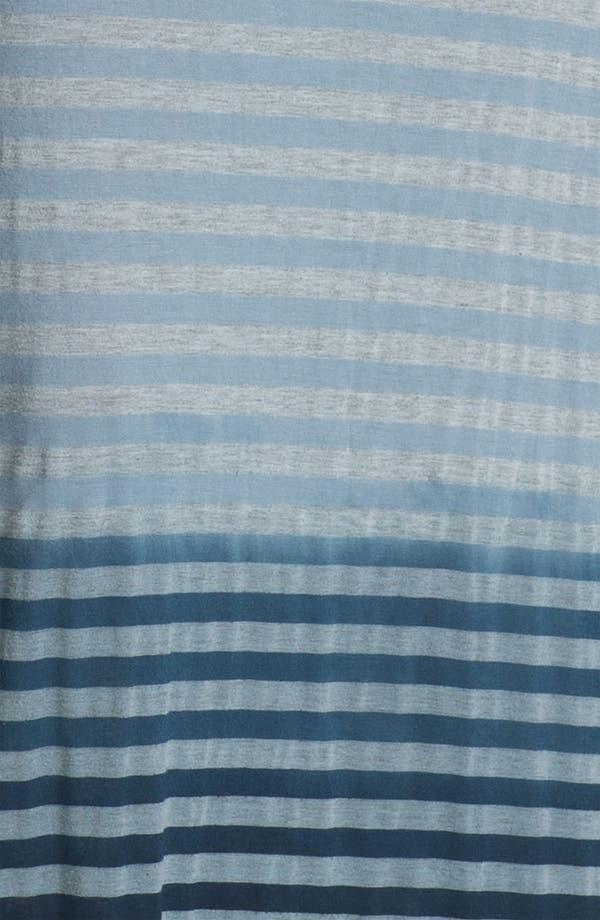 Alternate Image 3  - Allen Allen Ombré Stripe Maxi Dress