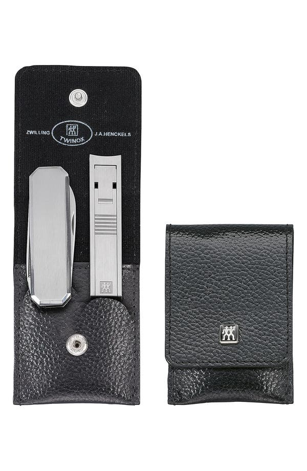 Alternate Image 2  - Zwilling Pour Homme Two-Piece Utility Kit