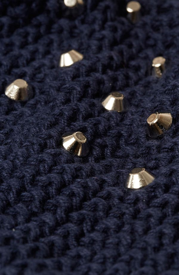 Alternate Image 3  - Topshop Studded Shoulder Sweater
