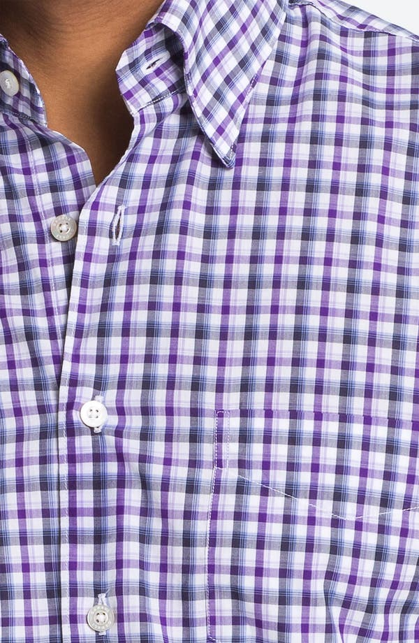 Alternate Image 3  - Canali Regular Fit Sport Shirt