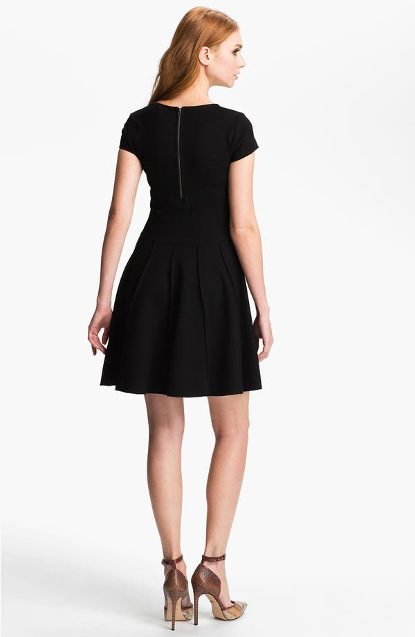 Alternate Image 2  - Parker 'Tara' Stretch Fit & Flare Dress