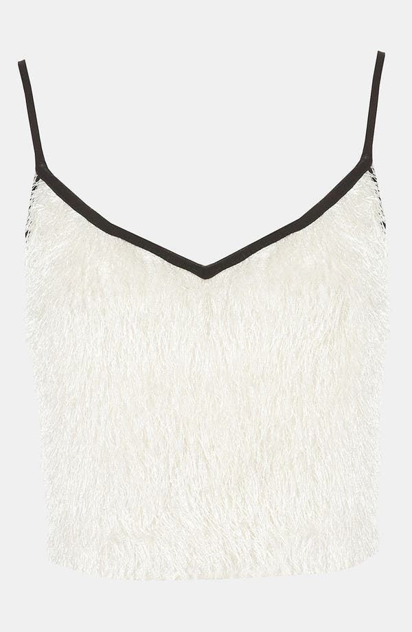 Alternate Image 1 Selected - Topshop Feather Knit Camisole