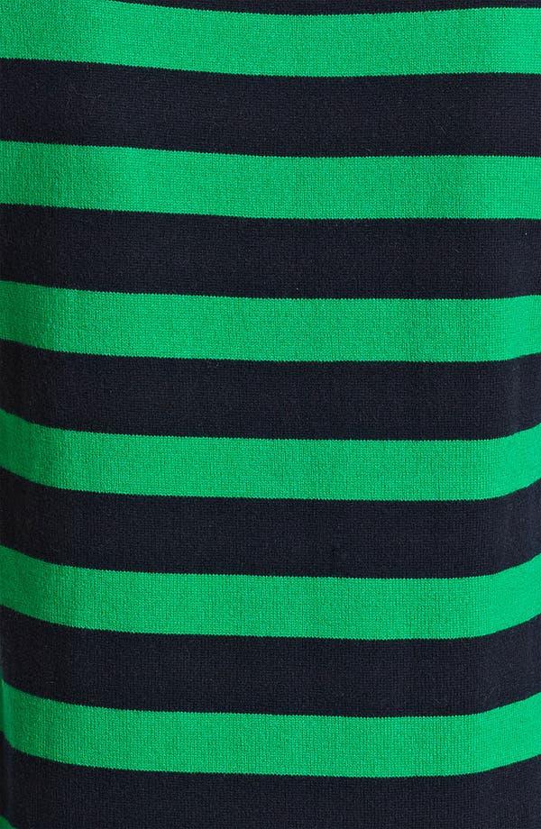 Alternate Image 3  - Michael Kors Stripe Cashmere Shell