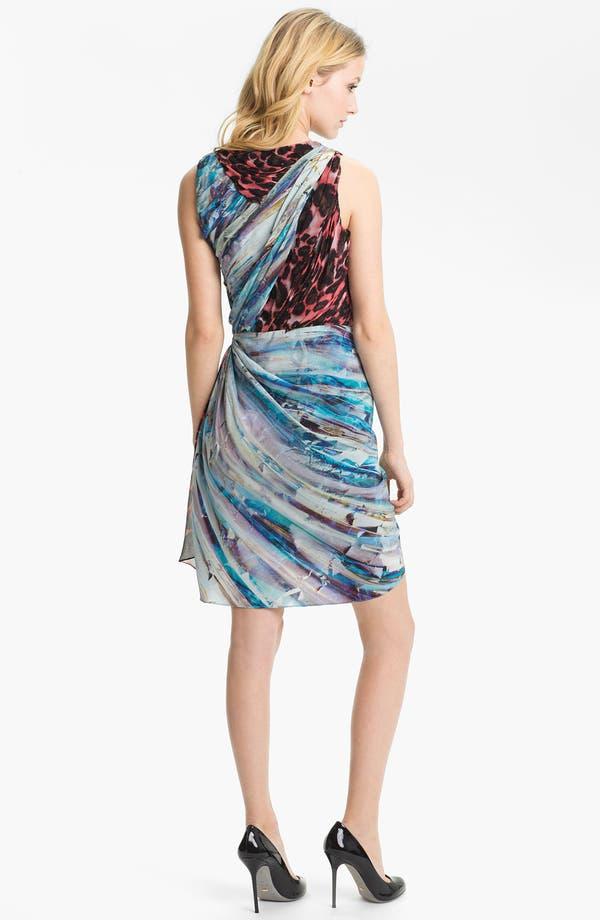 Alternate Image 2  - Rebecca Minkoff 'Gertz' Mix Print Silk Dress
