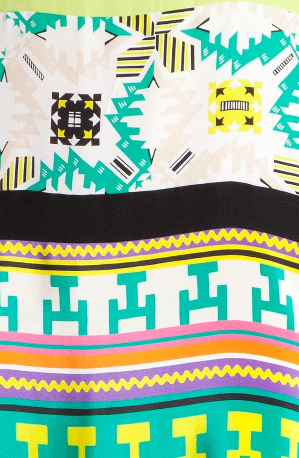 Alternate Image 3  - MSGM 'Memphis Print' Silk Tank Dress