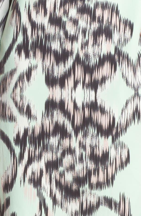 Alternate Image 3  - Milly Stretch Silk Shift Dress