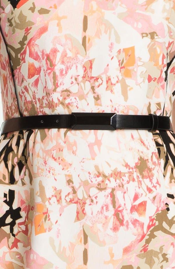 Alternate Image 3  - Tahari Belted Print Sheath Dress