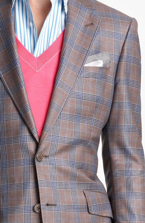 Alternate Image 3  - Paul Smith London Plaid Wool Sportcoat