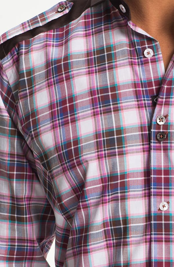 Alternate Image 3  - Bogosse 'Axel 46' Trim Fit Sport Shirt