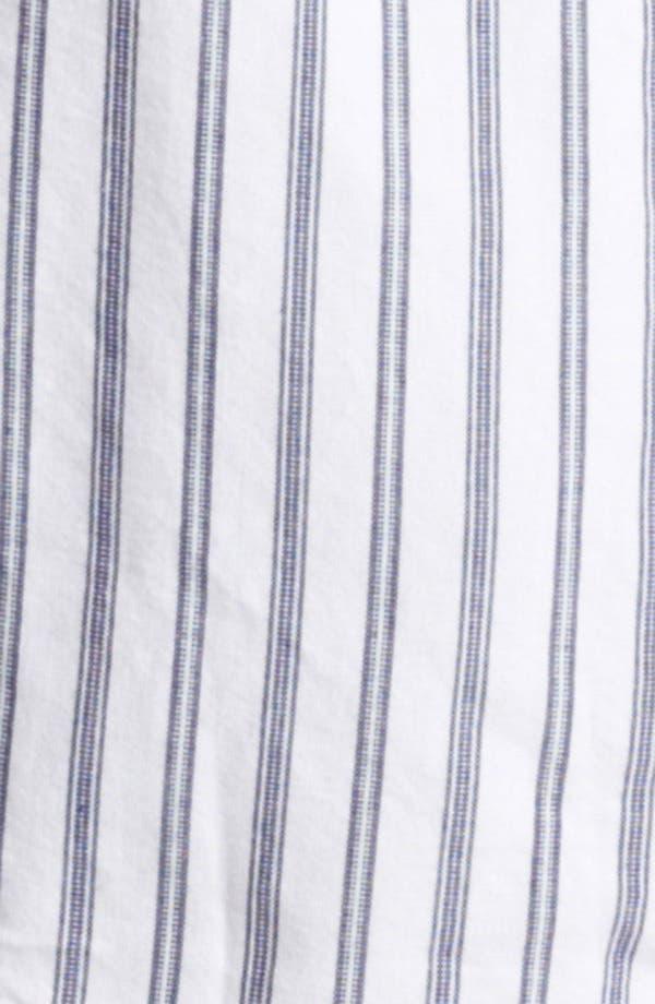 Alternate Image 3  - Gant by Michael Bastian Ticking Stripe Woven Shirt
