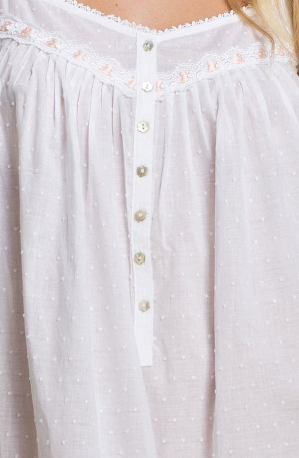 Alternate Image 3  - Eileen West 'Simply Sublime' Nightgown