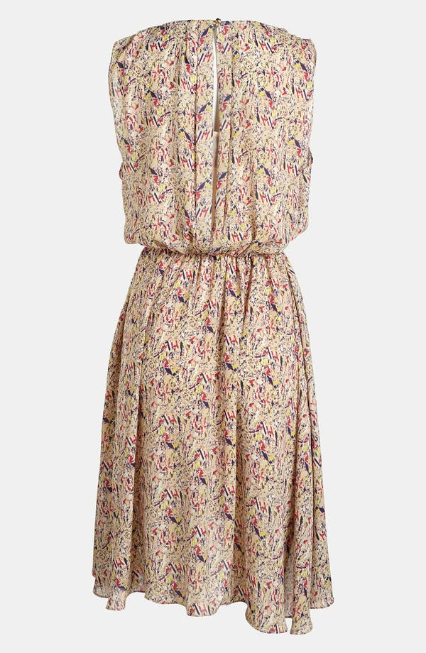 Alternate Image 2  - I.Madeline Print Cinch Waist Dress