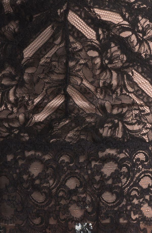 Alternate Image 4  - Nicole Miller Lace Sheath Dress