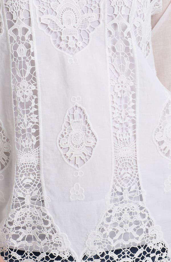 Alternate Image 3  - Bailey 44 'Tapa' Vintage Lace Peasant Top