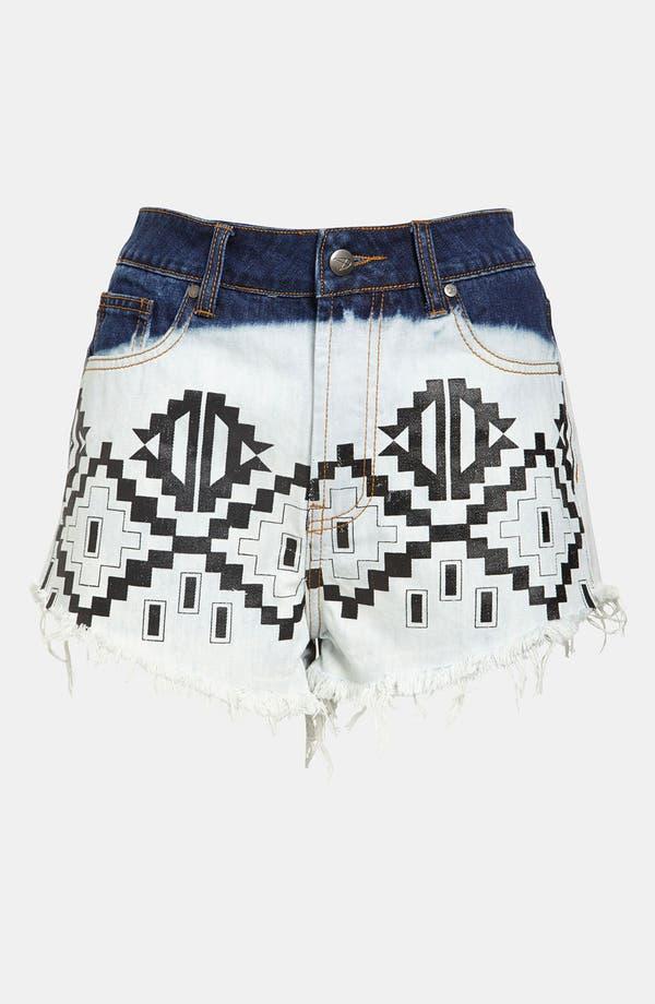 Main Image - MINKPINK 'Machu Picchu' High Waisted Cutoff Shorts