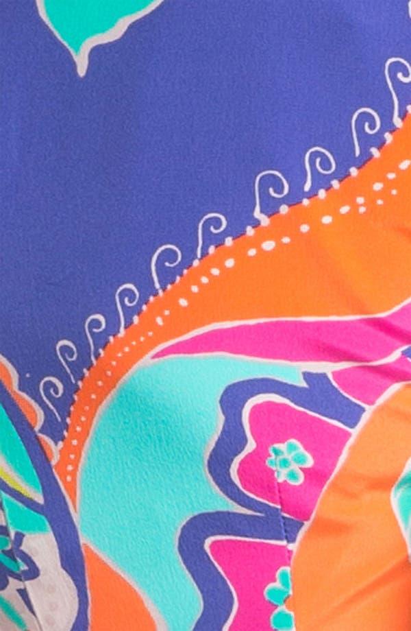 Alternate Image 3  - Trina Turk 'Crushes Sea Cove' Silk A-Line Dress