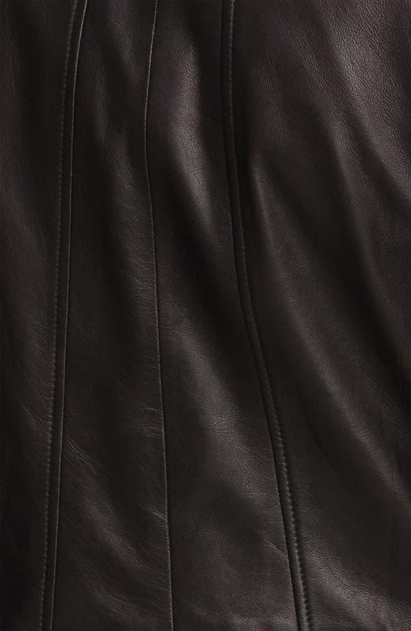 Alternate Image 3  - Trouvé Double Zip Leather Jacket