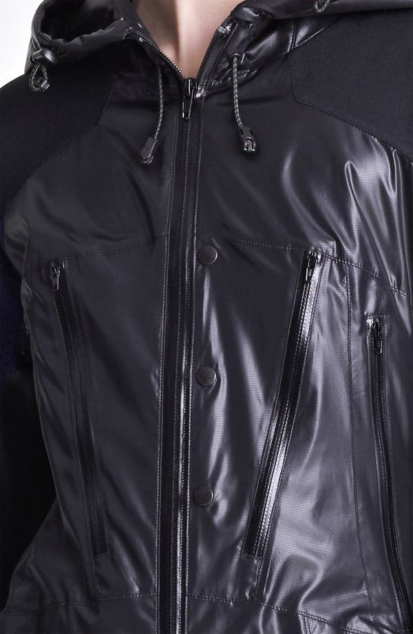 Alternate Image 3  - Junya Watanabe Hooded Ripstop Nylon Coat