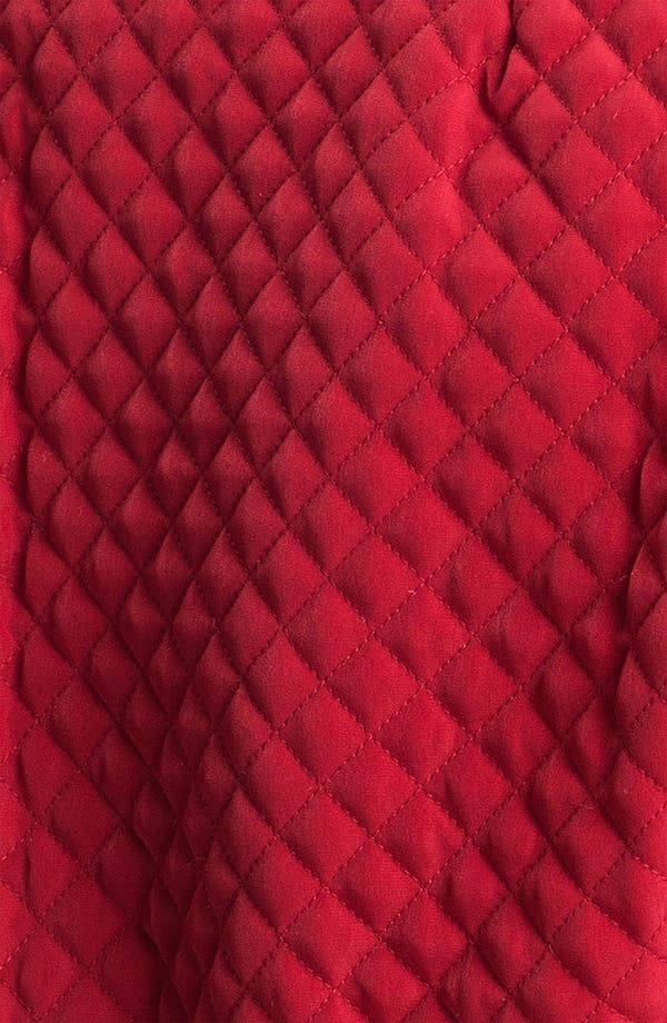 Alternate Image 3  - Gallery Zip Front Quilted Jacket (Plus Size)