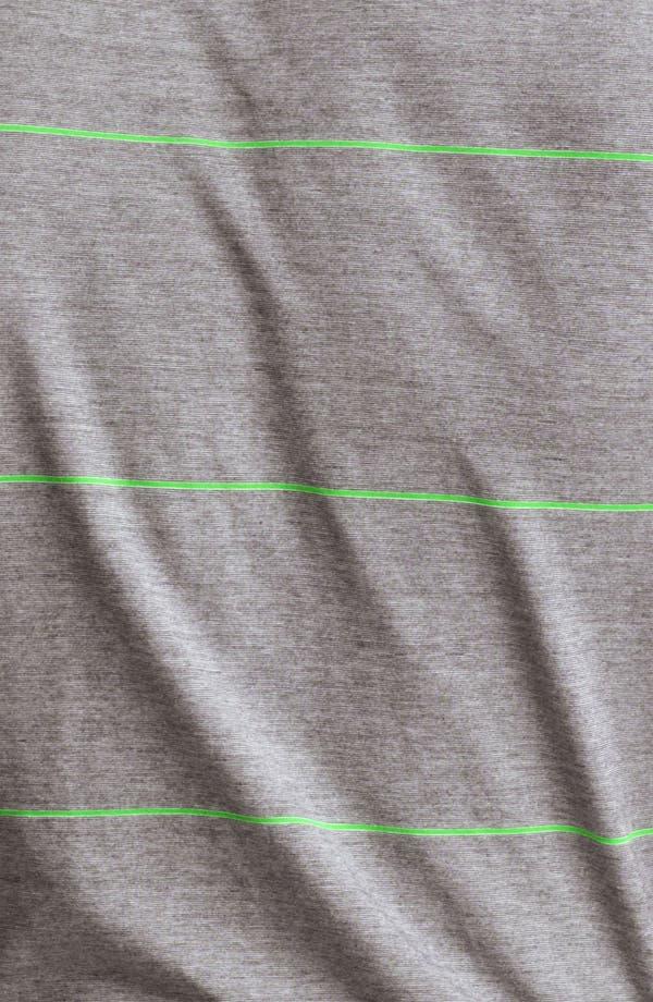 Alternate Image 3  - Armani Collezioni Stripe Jersey Polo