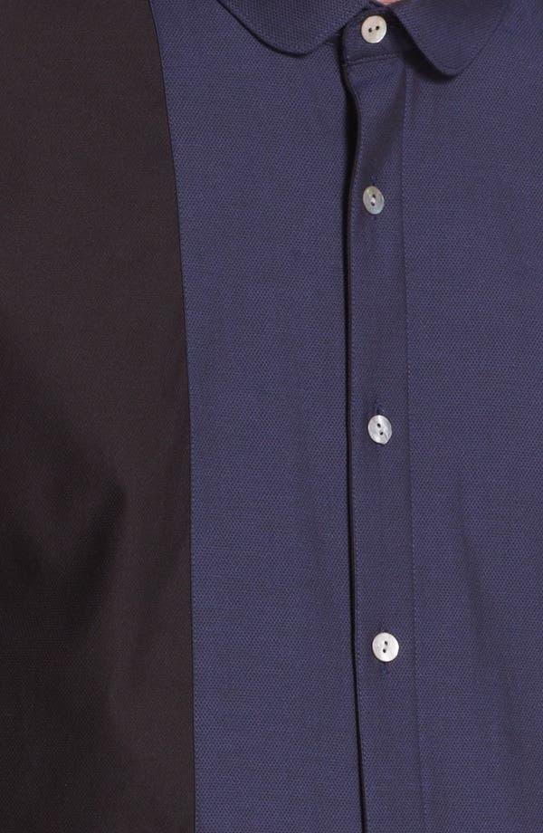 Alternate Image 3  - Topman 'Lux Collection' Bib Front Dress Shirt
