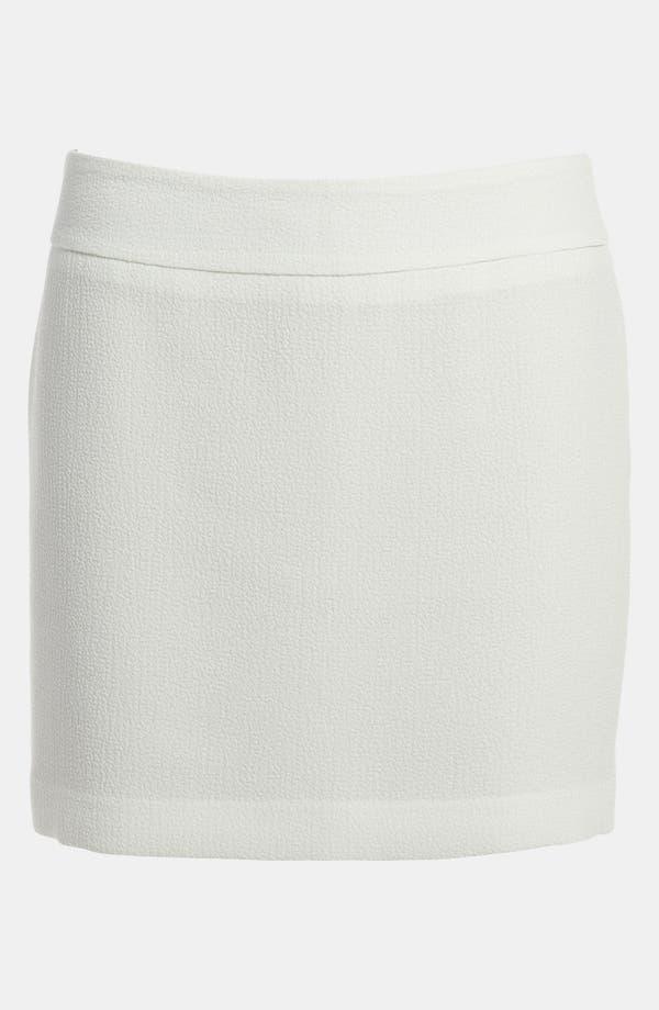 Main Image - Tildon Textured Miniskirt