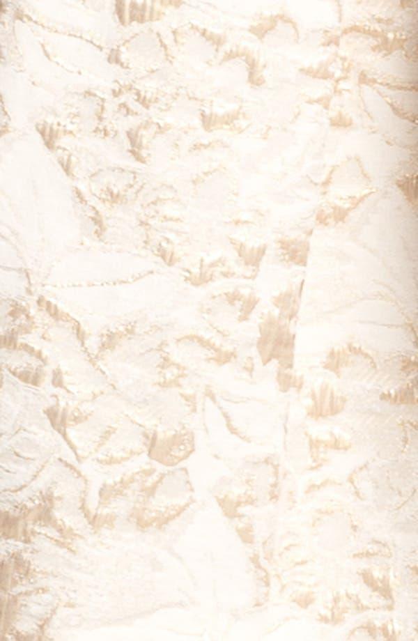 Alternate Image 3  - Eliza J Metallic Brocade Tulip Dress