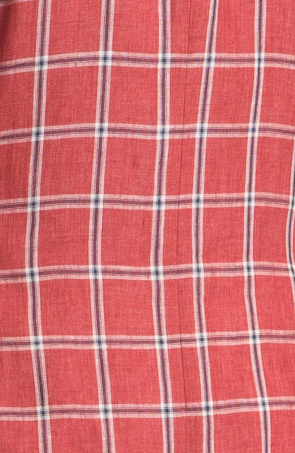 Alternate Image 3  - Ted Baker London Trim Fit Windowpane Sportcoat
