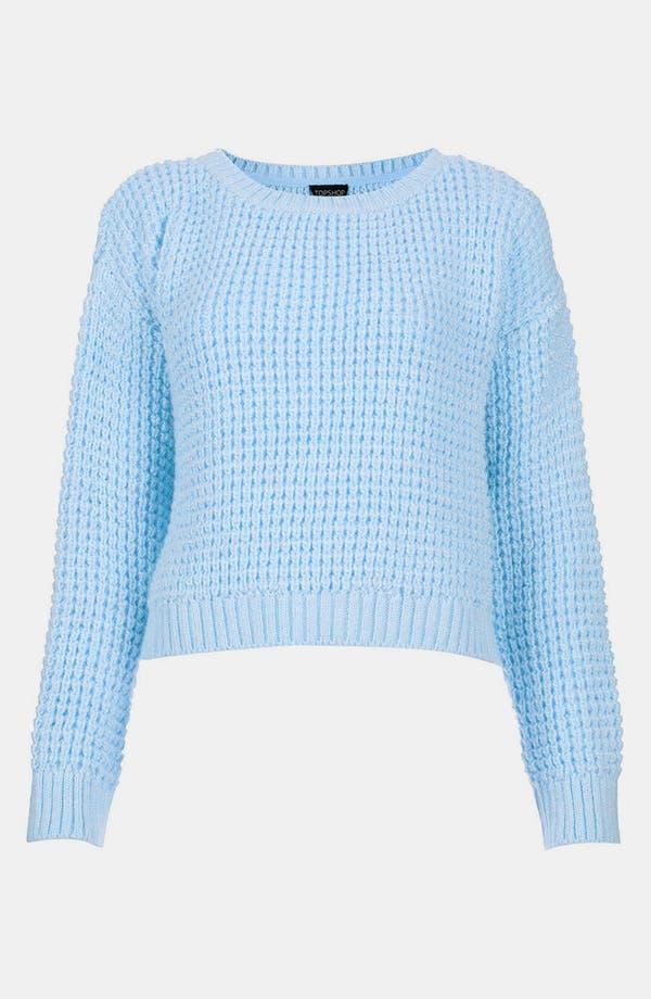 Alternate Image 1 Selected - Topshop Crop Sweater