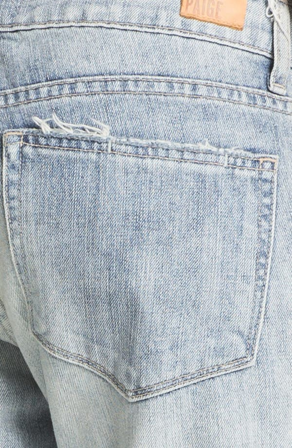 Alternate Image 3  - Paige Denim 'Jimmy Jimmy' Destroyed Relaxed Fit Jeans (Pilot)