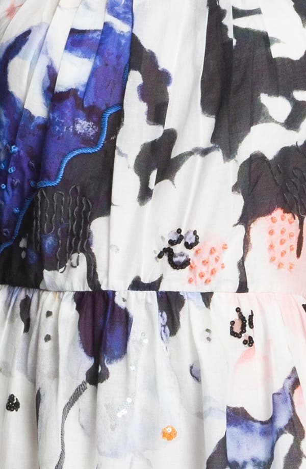 Alternate Image 3  - Matty M Sleeveless Flared Dress