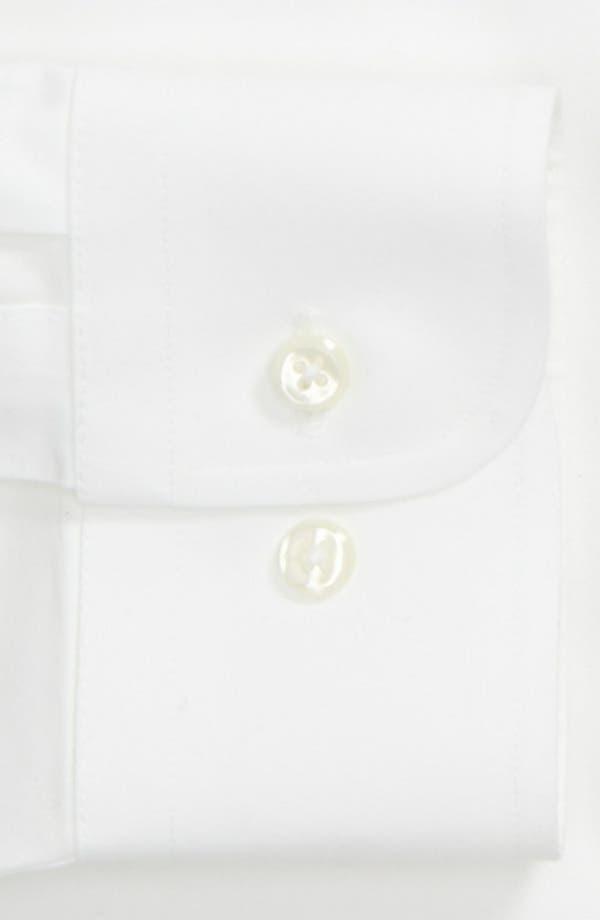 Alternate Image 4  - Nordstrom Men's Shop Smartcare™ Trim Fit Solid Dress Shirt