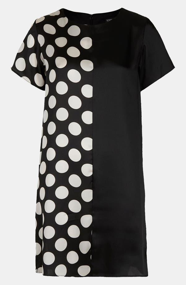 Alternate Image 3  - Topshop Spot Mix Tunic Dress