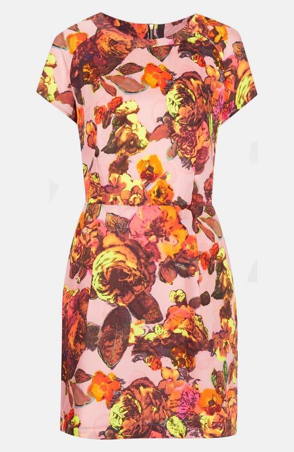 Alternate Image 3  - Topshop 'Modern Vintage' Shift Dress
