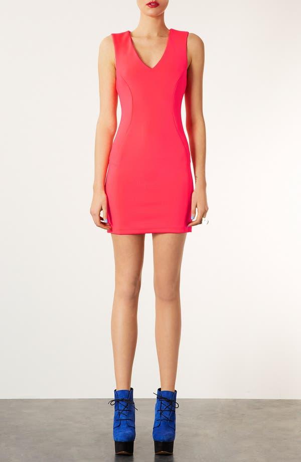Alternate Image 1 Selected - Topshop 'Roxy Scuba' Body-Con Dress