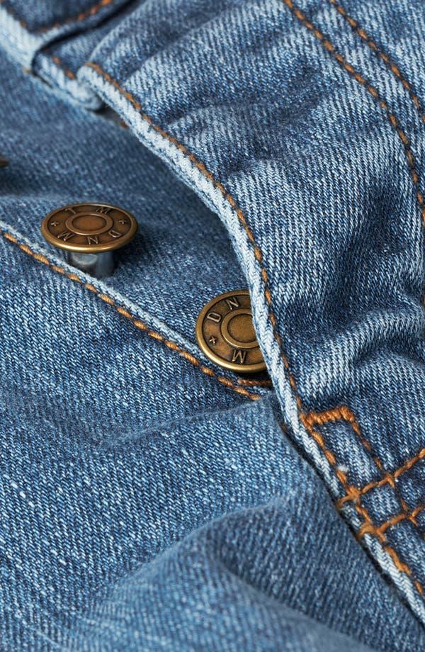 Alternate Image 3  - Topman Skinny Fit Stretch Jeans