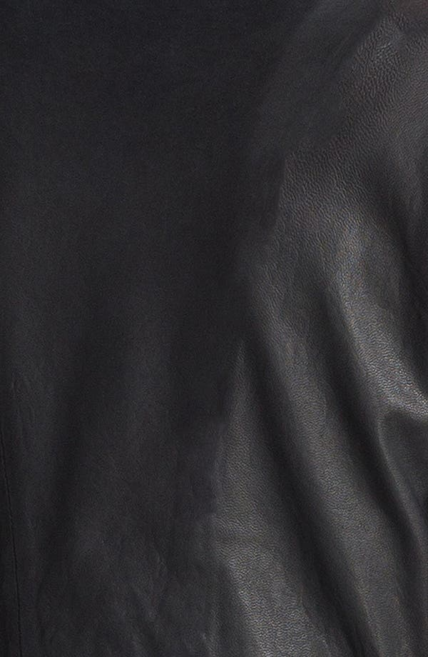 Alternate Image 6  - HELMUT Helmut Lang Washed Leather Jacket