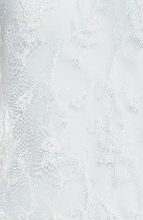 Alternate Image 3  - Tildon Roll Cuff Lace Tee