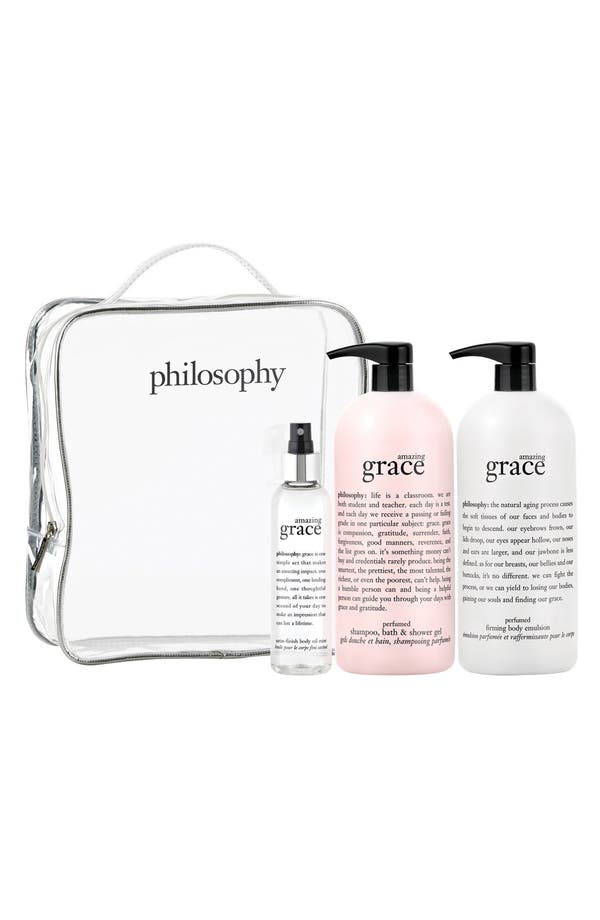 Alternate Image 1 Selected - philosophy 'amazing grace' set (Nordstrom Exclusive) ($144 Value)