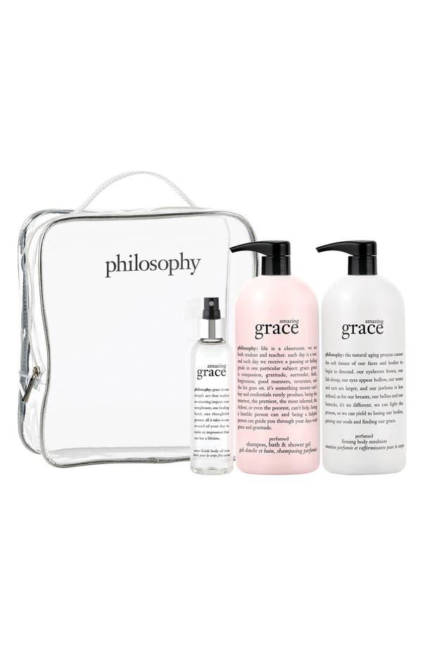 Main Image - philosophy 'amazing grace' set (Nordstrom Exclusive) ($144 Value)