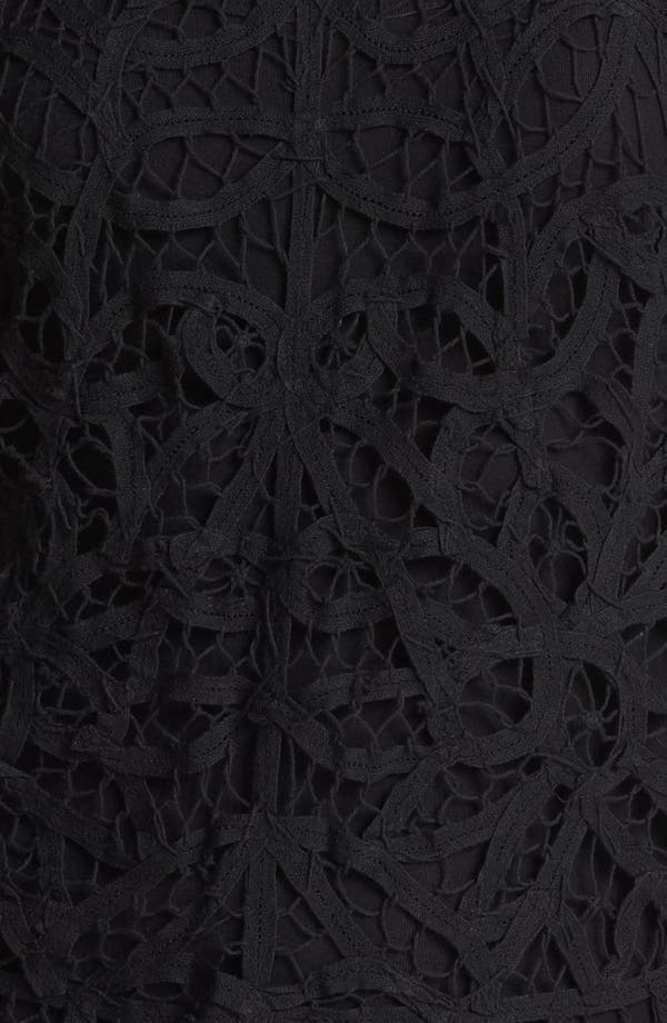 Alternate Image 3  - Hinge® Battenburg Lace Top