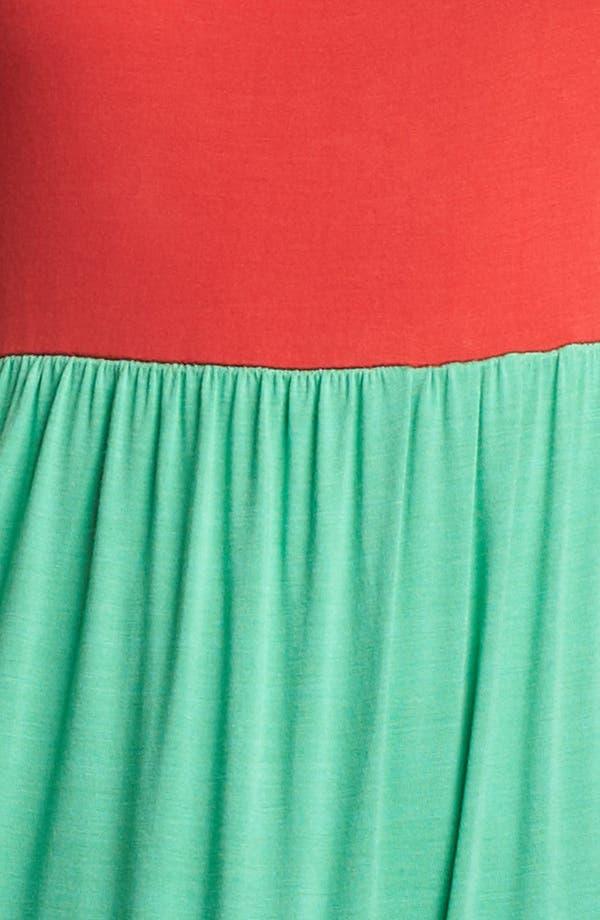 Alternate Image 3  - Kensie Colorblock Maxi Dress