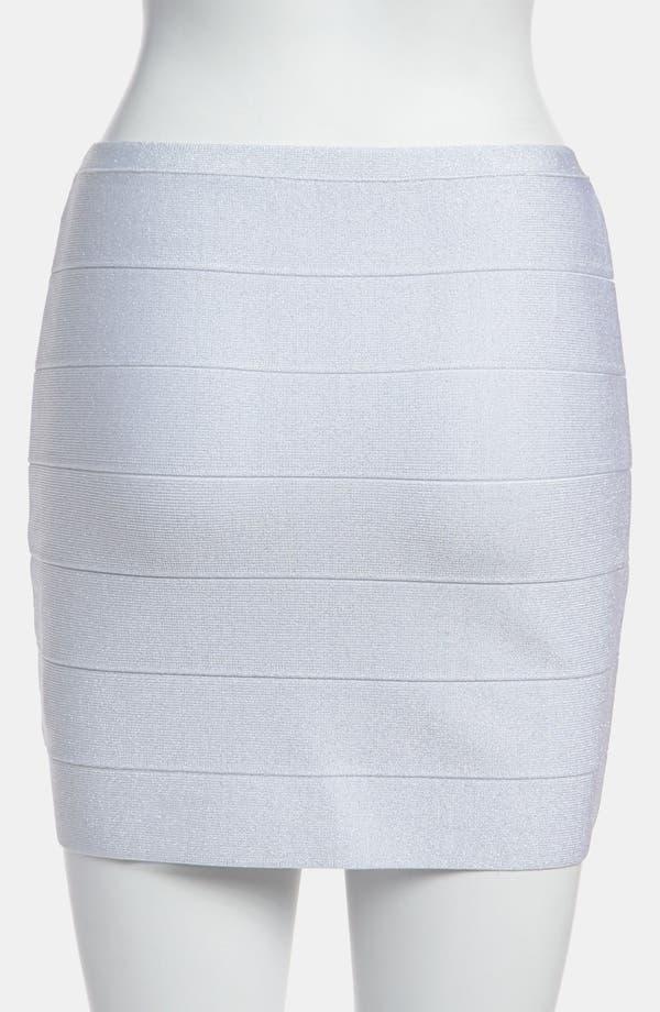 Alternate Image 3  - BB Dakota Metallic Bandage Miniskirt