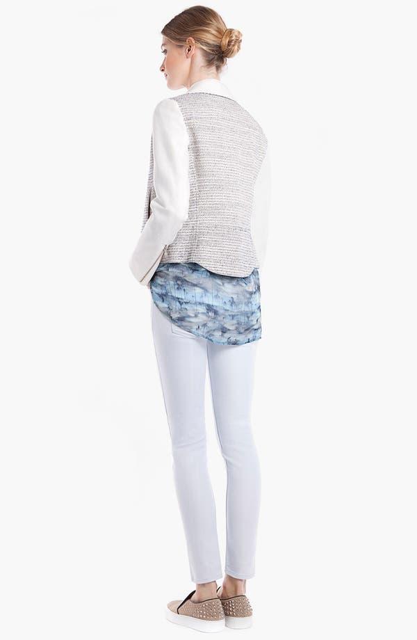 Alternate Image 2  - sandro 'Vernis' Tweed Moto Jacket