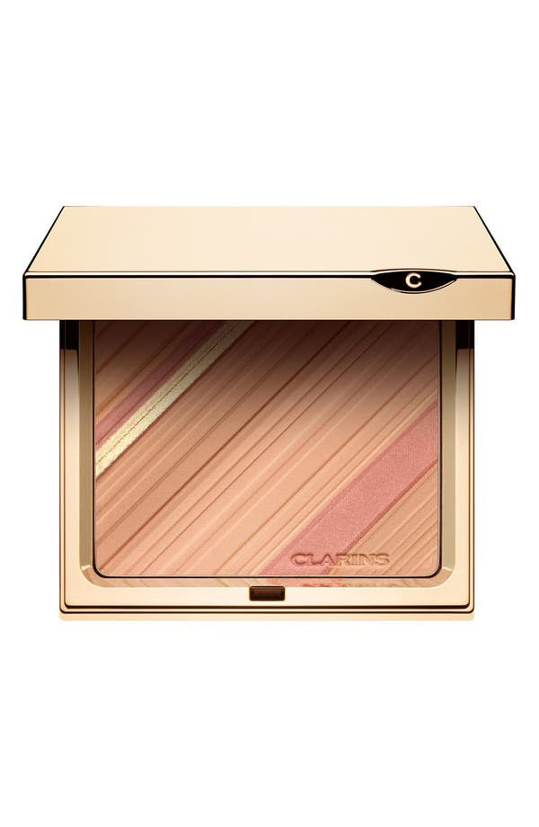 Main Image - Clarins 'Graphic Expression' Face & Blush Powder Palette