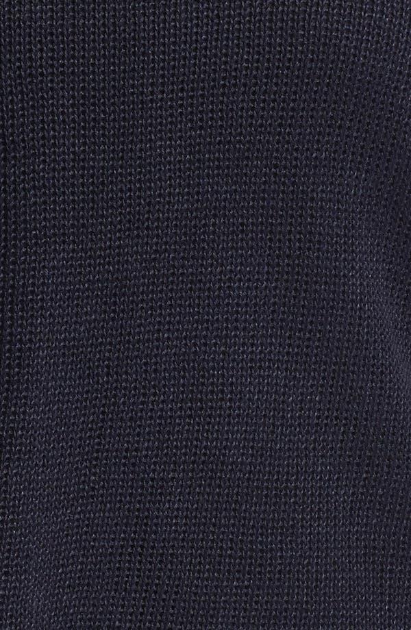 Alternate Image 3  - Eileen Fisher Open Stitch Raglan Sleeve Top (Plus Size)