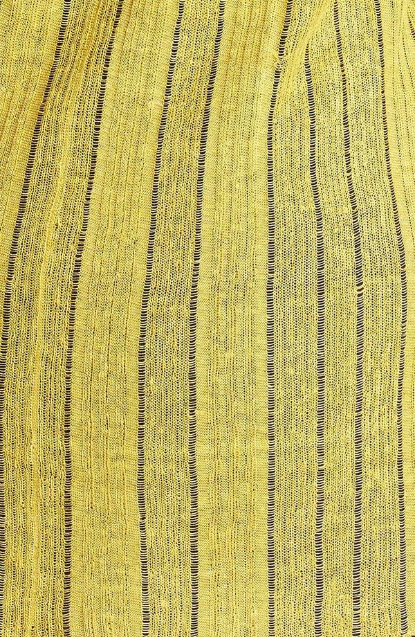 Alternate Image 3  - Eileen Fisher Raglan Sleeve Open Cardigan (Plus Size)